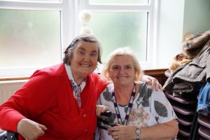 Gwen and Rubicon service user